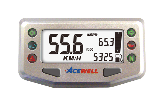ACE-100/200 sereis  Multi-Function Speedometer, Compact & Smart