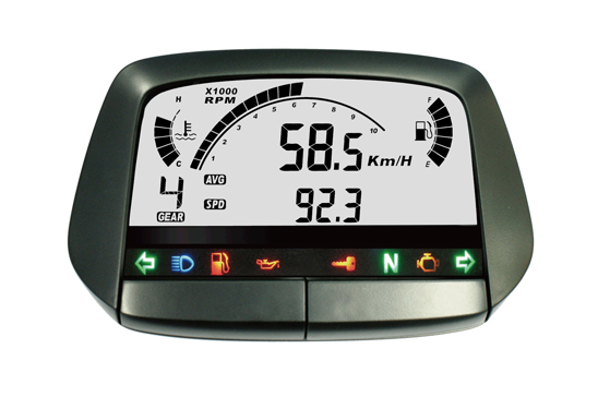 ACE-5000 sereis Digital Display Multi Functon Speedometer