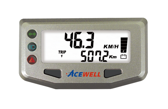 ACE-100 sereis  LEV Speedometer, Digital LCD Display, Compact & Smart