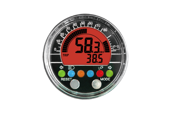 ACE-2000E sereis  Multi-Function Speedometer for LEV, Digital LCD Display