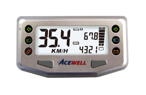 ACE-200 sereis  LEV Speedometer, Digital LCD Display, Compact & Smart