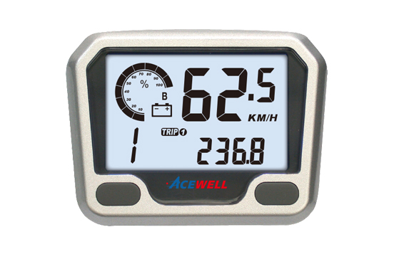 ACE-3550E/EC sereis  New Speedometer for LEV,  Digital LCD Display