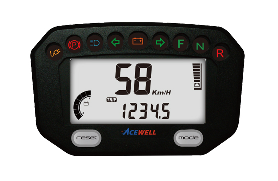 ACE-300E sereis  EV Speedometer, Digital LCD Display, Compact & Smart