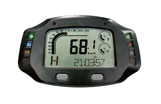 ACE-7000EC (CANBUS) sereis Speedometer for EV/LEV,  Digital LCD Display