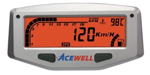 ACE-1000 sereis Digital LCD Display Multi-Function Speedometer